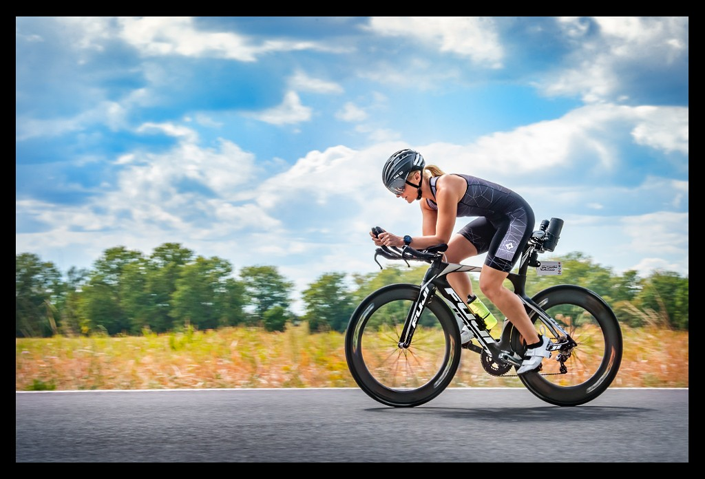Triathlon Radtraining mit Carbon Laufradsets von RON Wheels