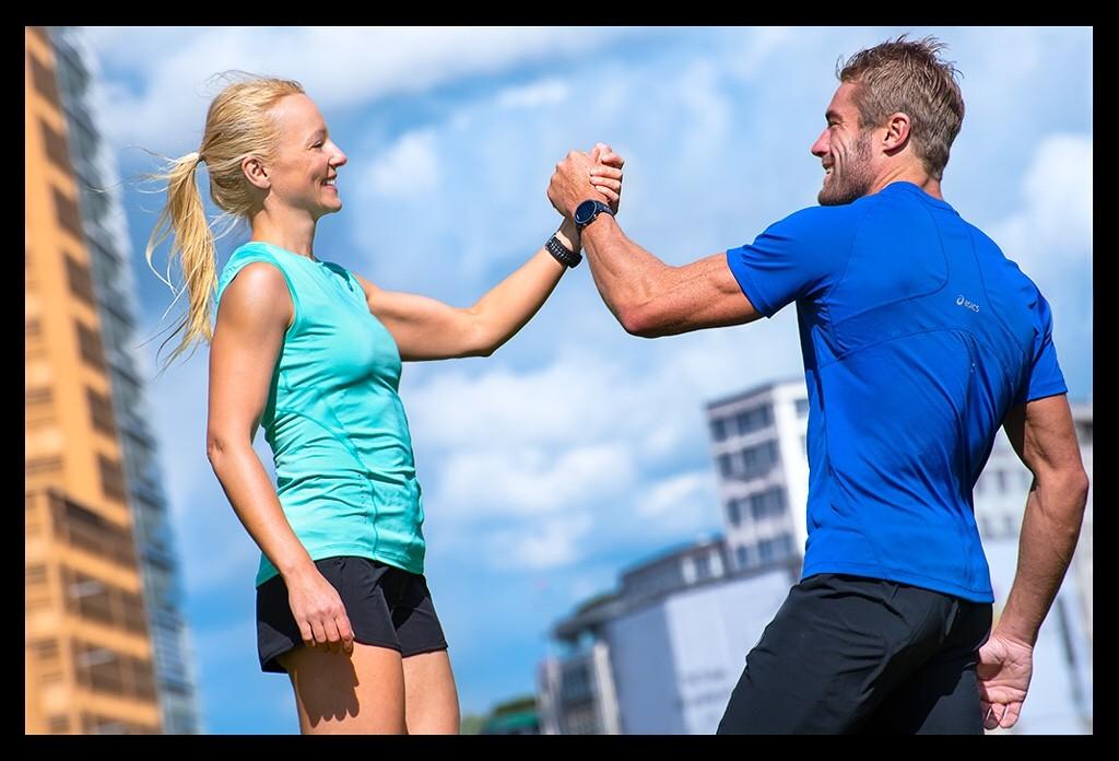 Sport mit Partner