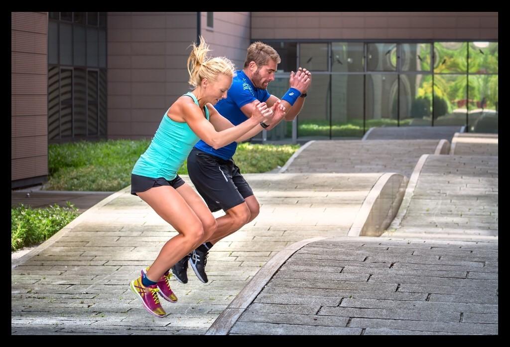 Athletiktraining für Triathleten Box Jumps