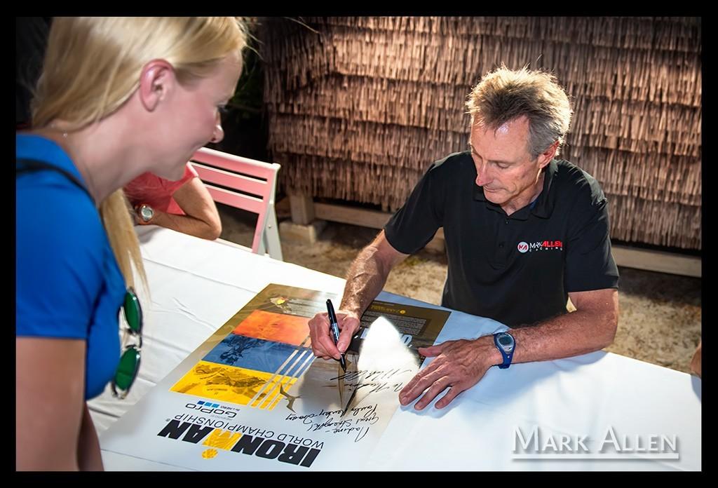 Hawaii - Big Island: Ironman großes Athletentreffen & Pressekonferenz