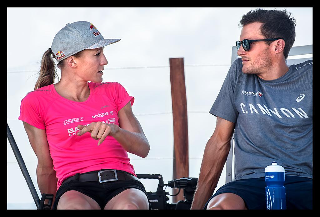 Daniela Ryf und Jan Frodeno bei der Ironman World Championship