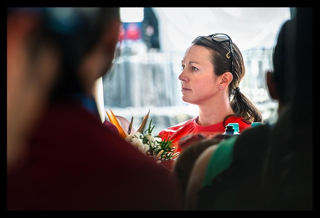 Rachel Joyce bei der Ironman World Championship