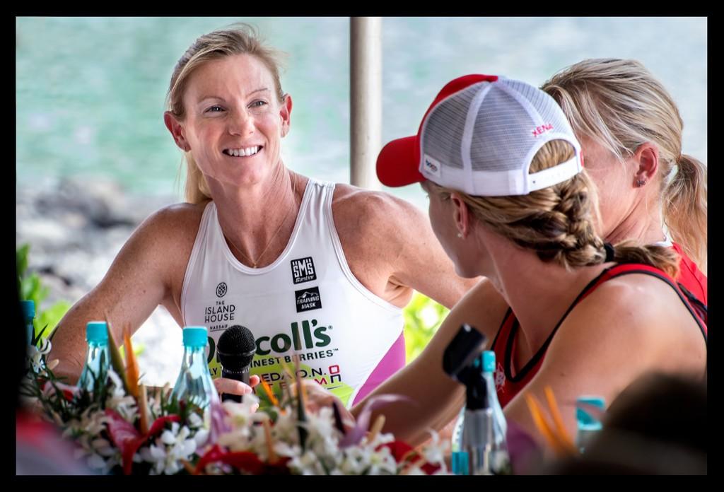 Leanda Cave bei der Ironman World Championship