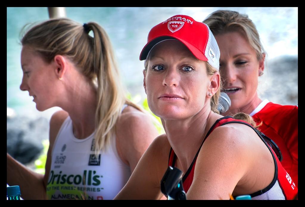 Caroline Steffen und Leanda Cave bei der Ironman World Championship