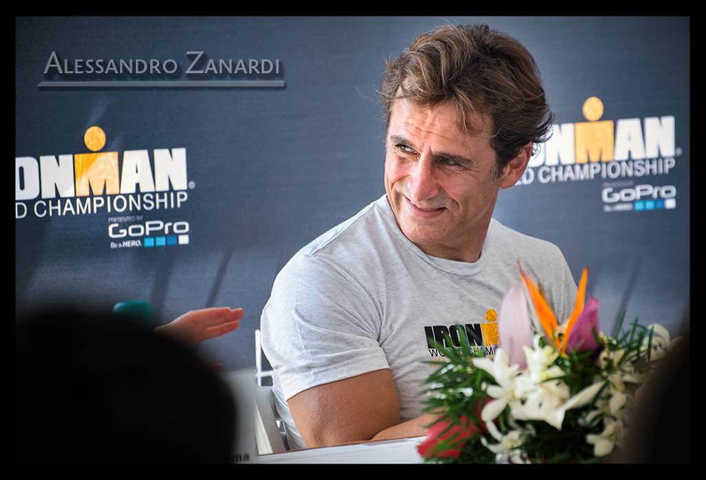Alessandro Zanardi bei der Ironman World Championship