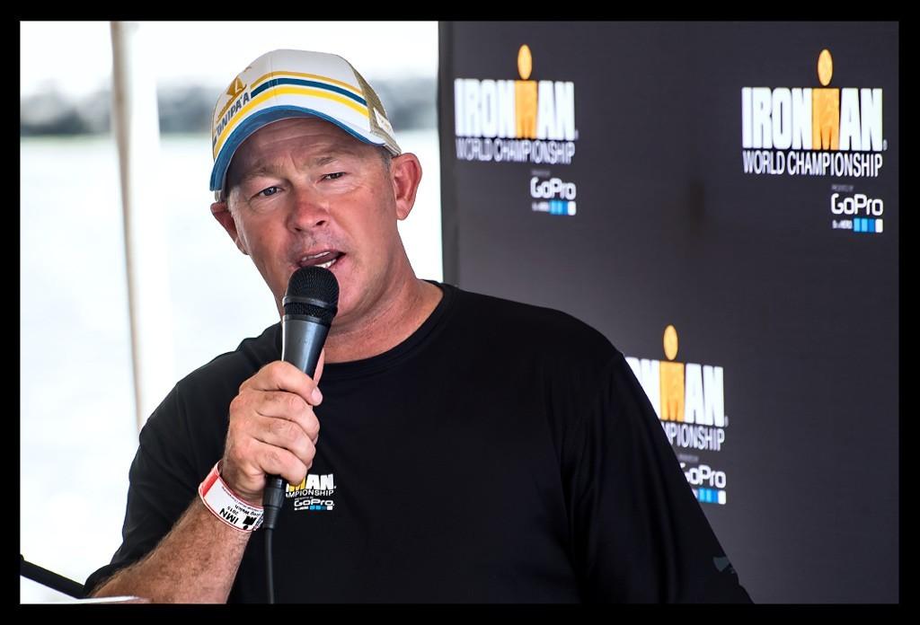 Greg Welch bei der Ironman World Championship