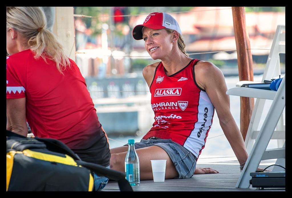 Caroline Steffen bei der Ironman World Championship