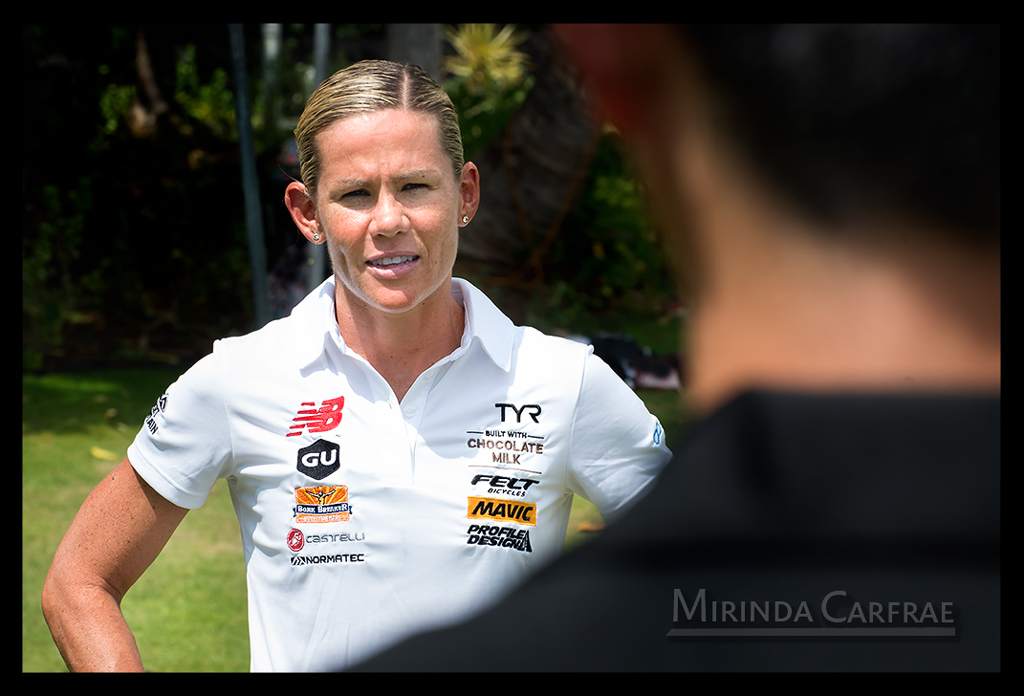 Mirinda Carfrae bei der Ironman World Championship