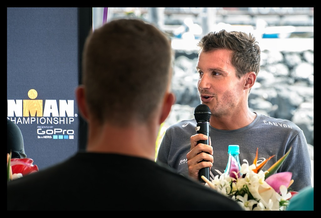 Jan Frodeno bei der Ironman World Championship