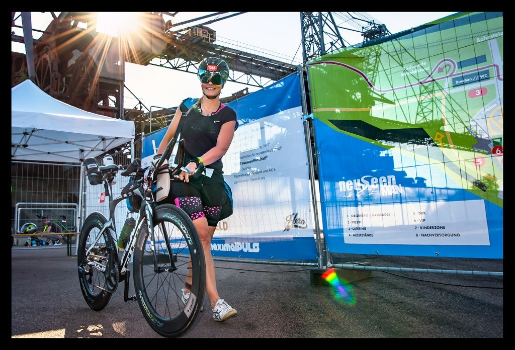 Ferropolis NeuseenMan Triathlon 2019 Bike Check-In