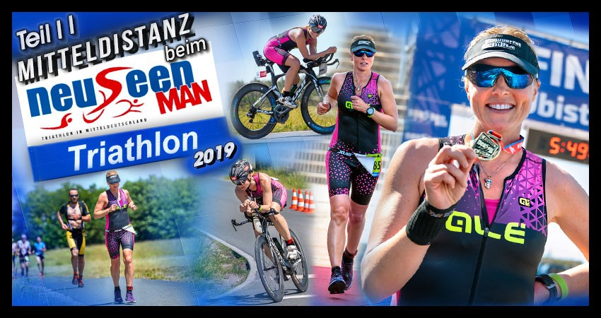 Ferropolis NeuseenMan Triathlon 2019 Banner Collage