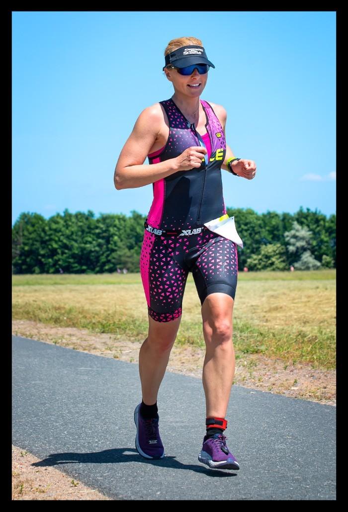 Ferropolis Triathlon 2019 Laufstrecke