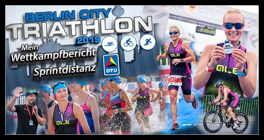 Berlin City Triathlon - Die Finals 2019 - Banner Sprintdistanz