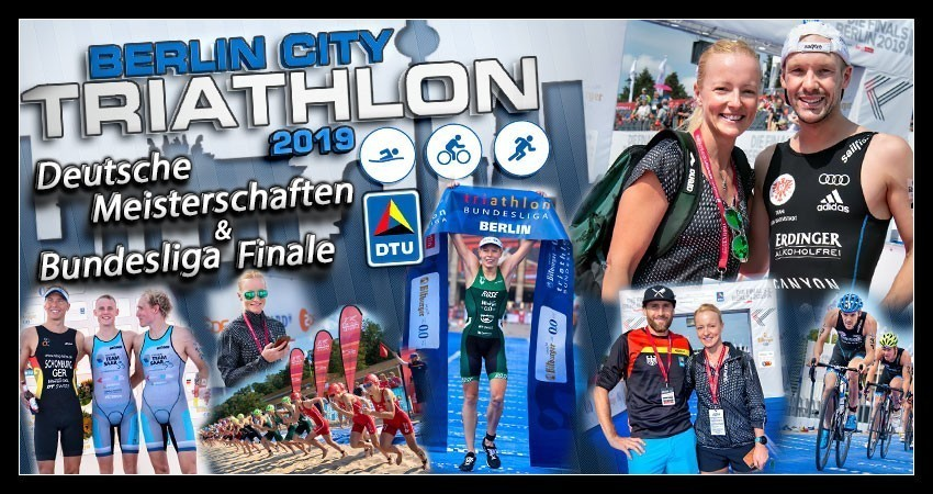 Berlin City Triathlon DTU Deutscher Meister Banner