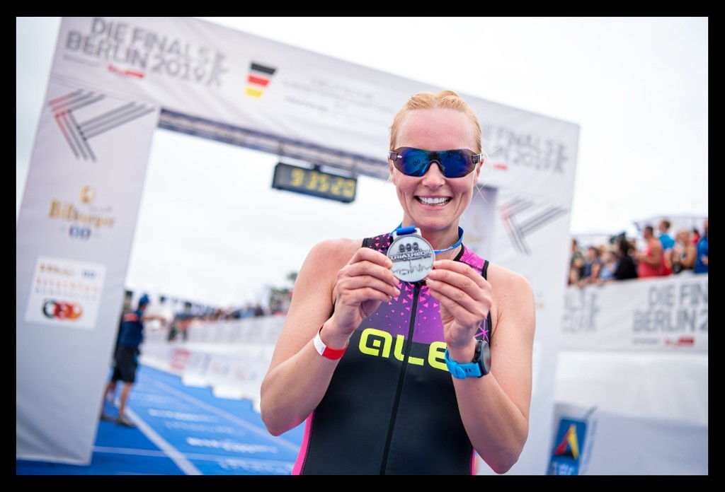 Berlin City Triathlon - Die Finals 2019 - Sprintdistanz Finish