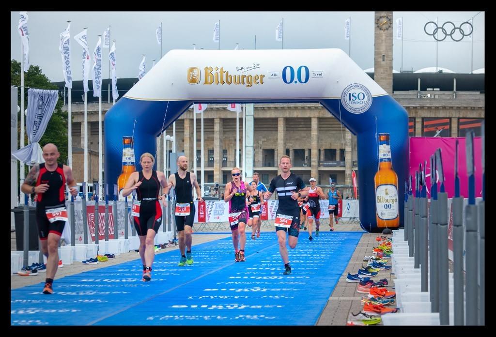 Berlin City Triathlon - Die Finals 2019 - Sprintdistanz Laufstrecke