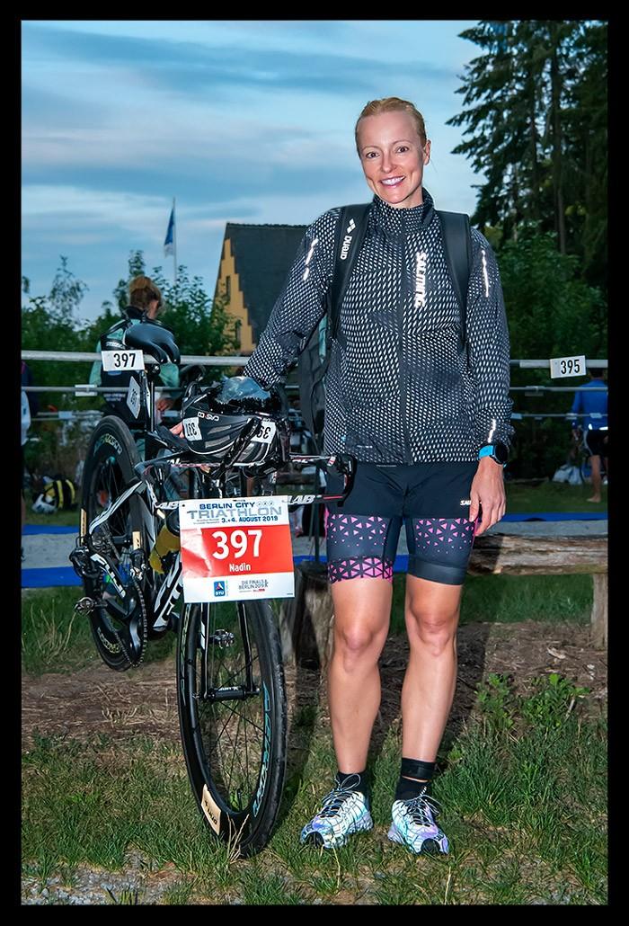 Berlin City Triathlon Wechselzone Rad Wannsee