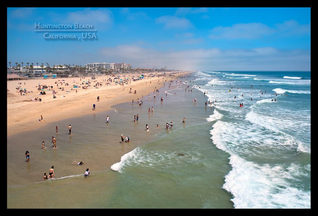 Huntington Beach Surfing California Road Trip