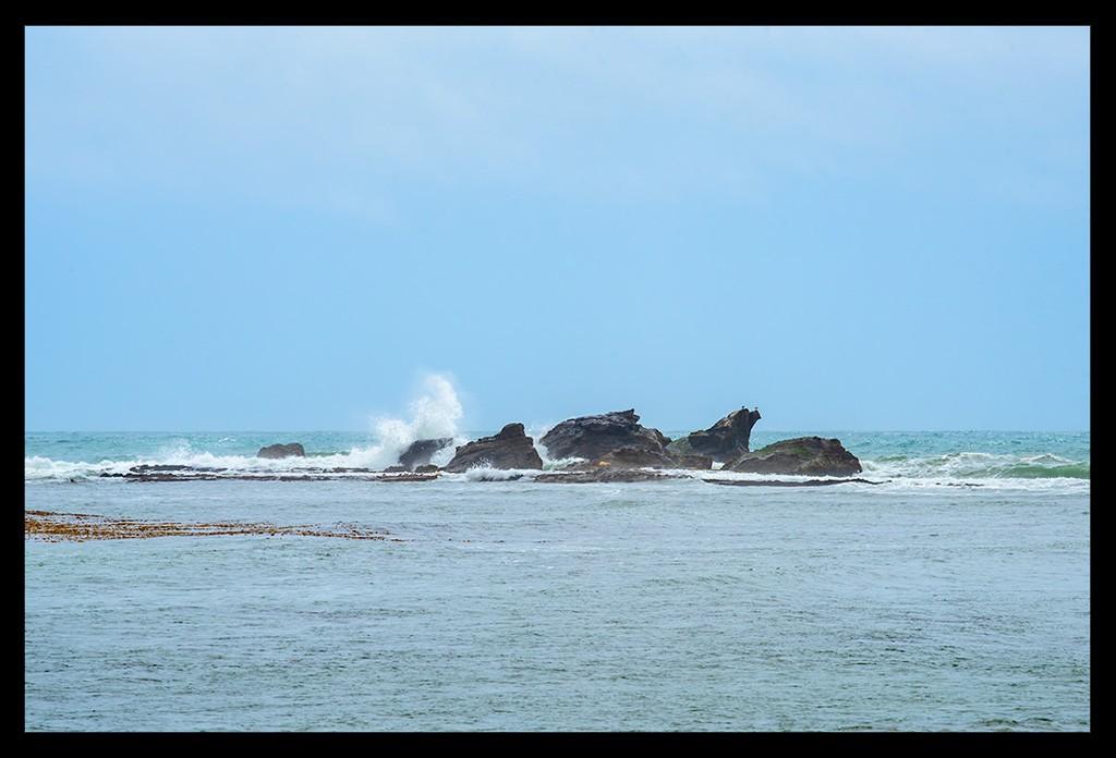 Surfing Kalifornien Mavericks Beach