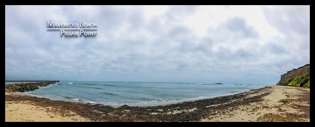 Mavericks Beach Panorama