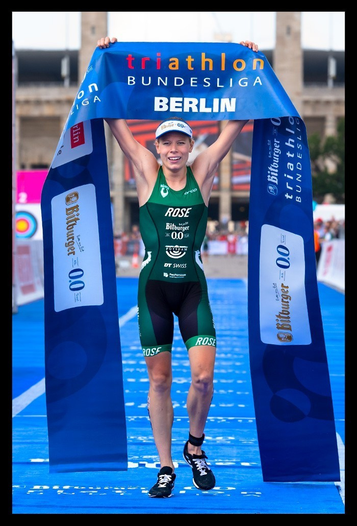 Berlin City Triathlon Deutsche Meisterin Laura Lindemann 2019