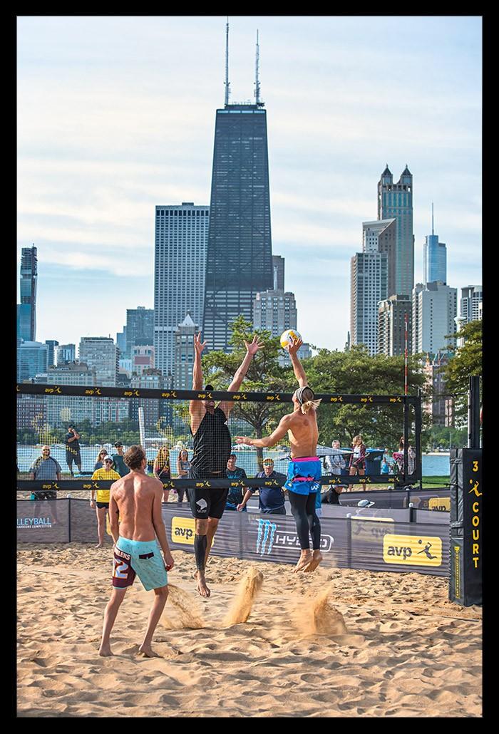 AVP Beach Volleyball Championships Chicago North Avenue Beach