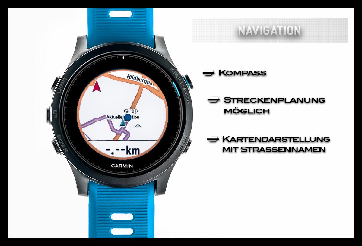 Garmin Forerunner 945 Navigation