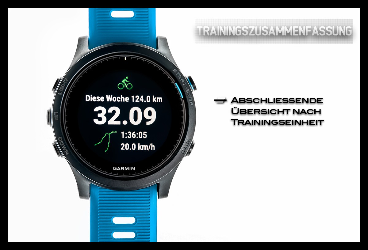 Garmin Forerunner 945 Trainingsauswertung
