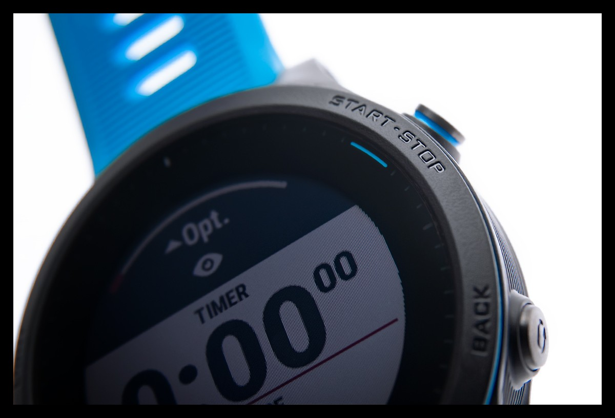 Garmin Forerunner 945 Test Display