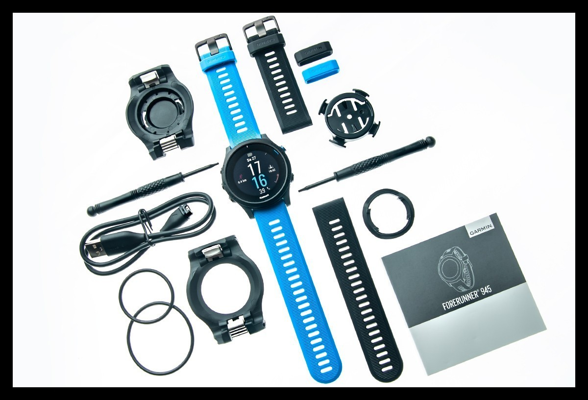 Garmin Forerunner 945 Triathlon Bundle