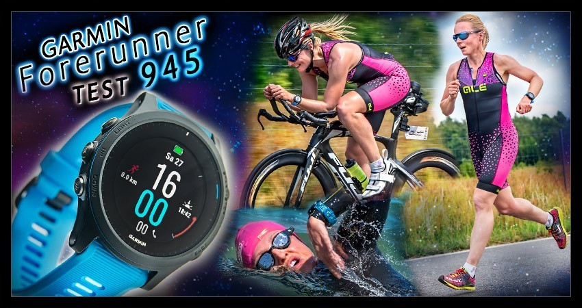 Garmin Forerunner 945 Produkt Test Banner Collage