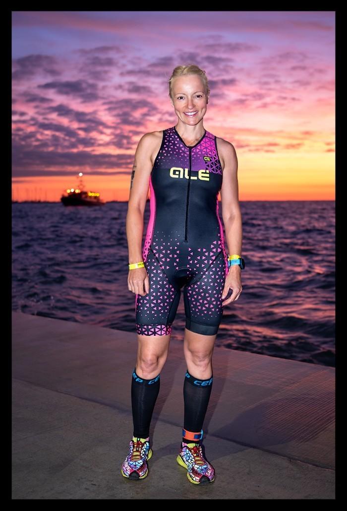 Chicago Triathlon International Course Sunrise
