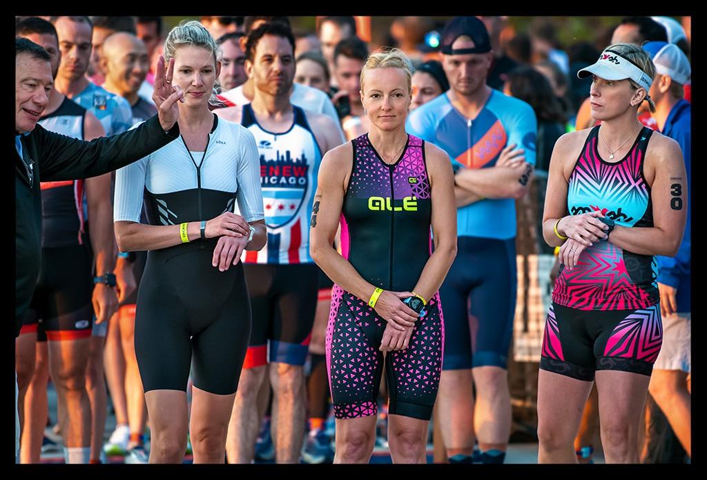 Chicago Triathlon International Course Starting line