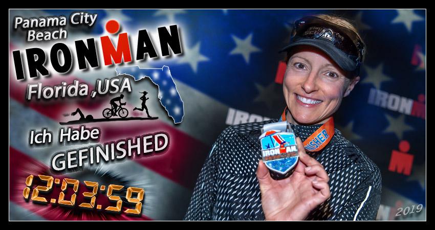 Ironman Florida Panama City Beach Finishline Medal Banner Collage
