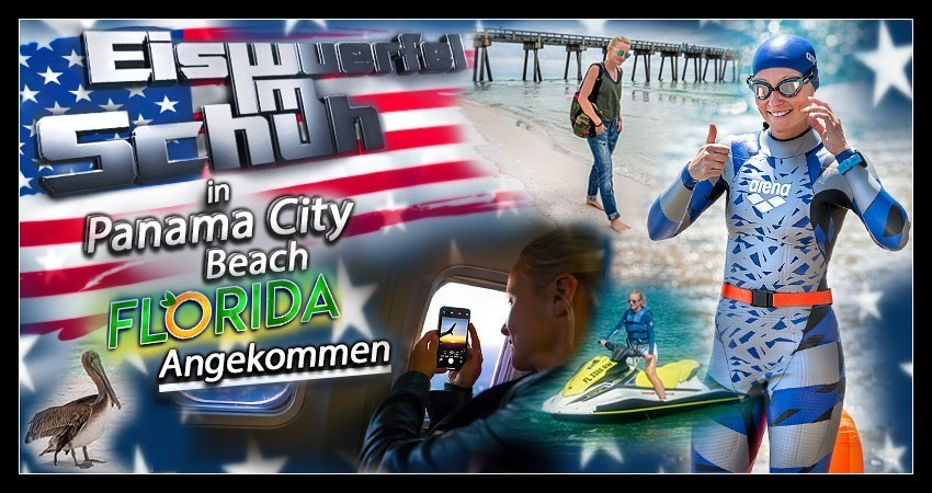 Panama City Beach Reisebericht Banner Collage