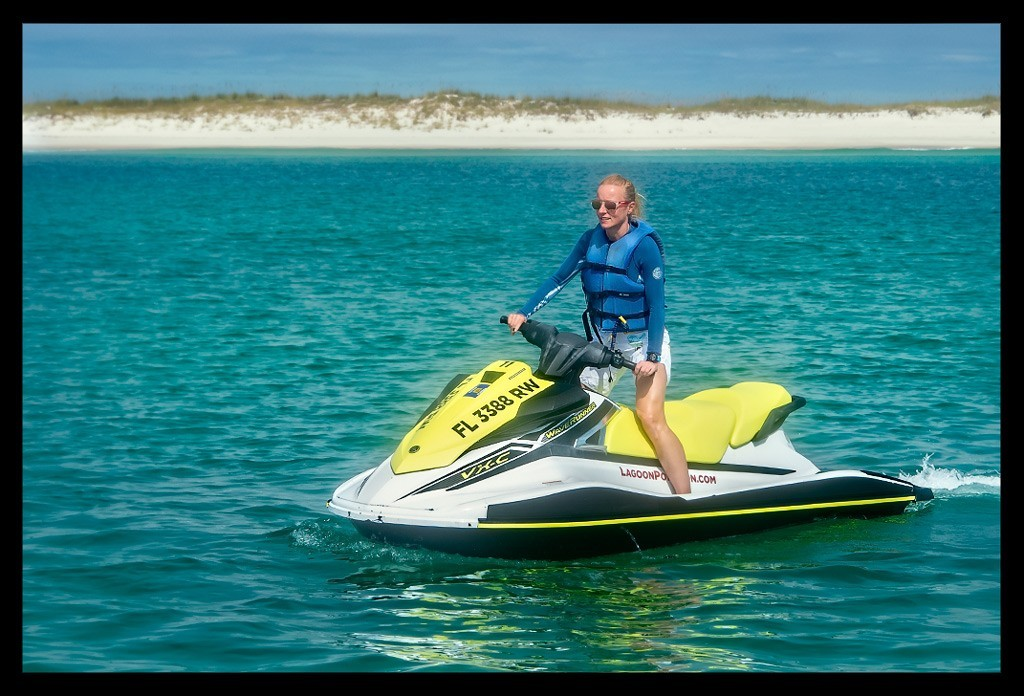 Jetski in Panama City Beach Florida Reiseblog