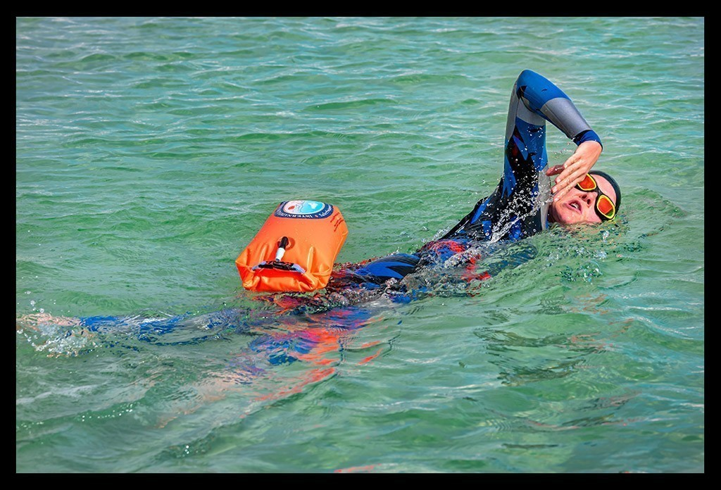 Schwimmboje Safe Swimmer 360Swim