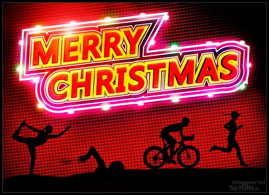 Eiswuerfelimschuh Triathlon Blog Weihnachts Banner