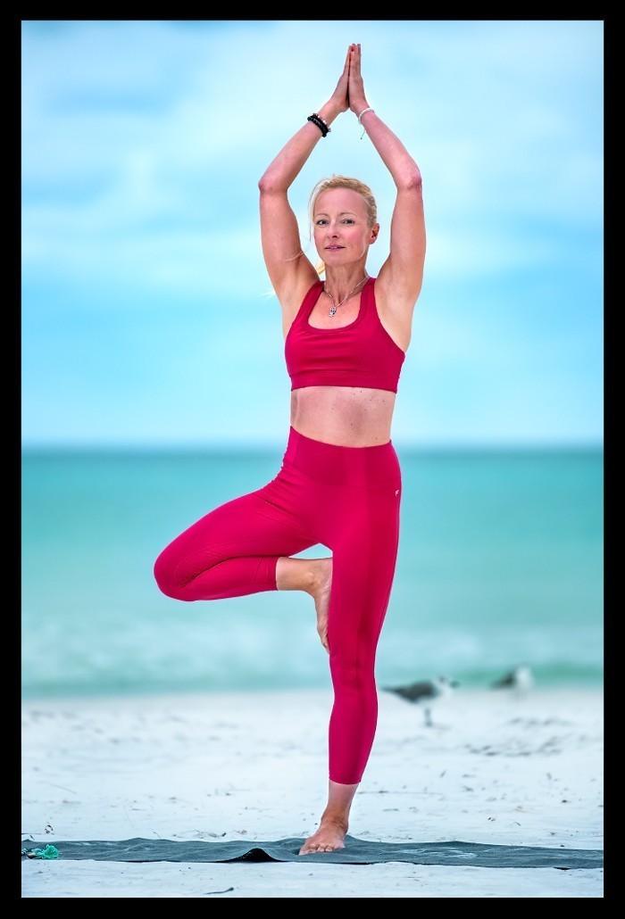 Yoga Vrksasana Baum Position Balance