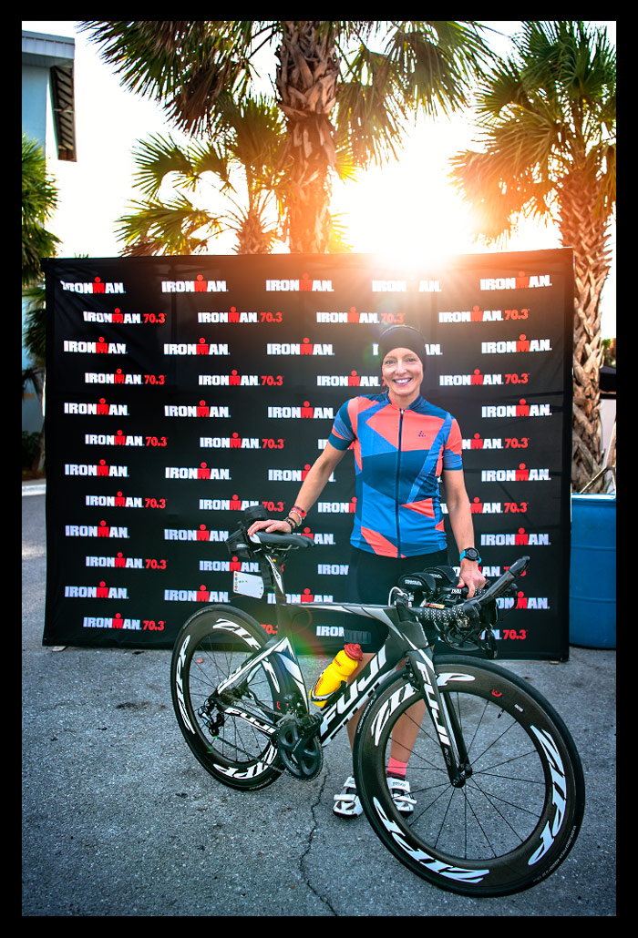 Ironman Florida Panama City Beach Bike Check In Logo Wall