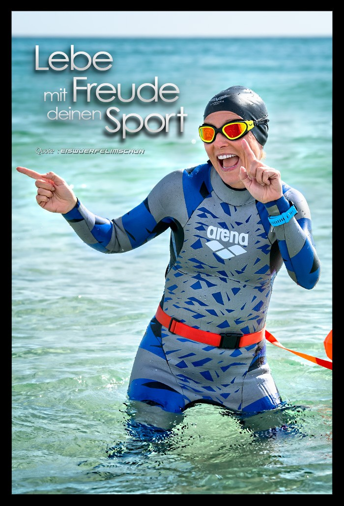 Triathlon Training Blog Motivation Quote Freude Zitat