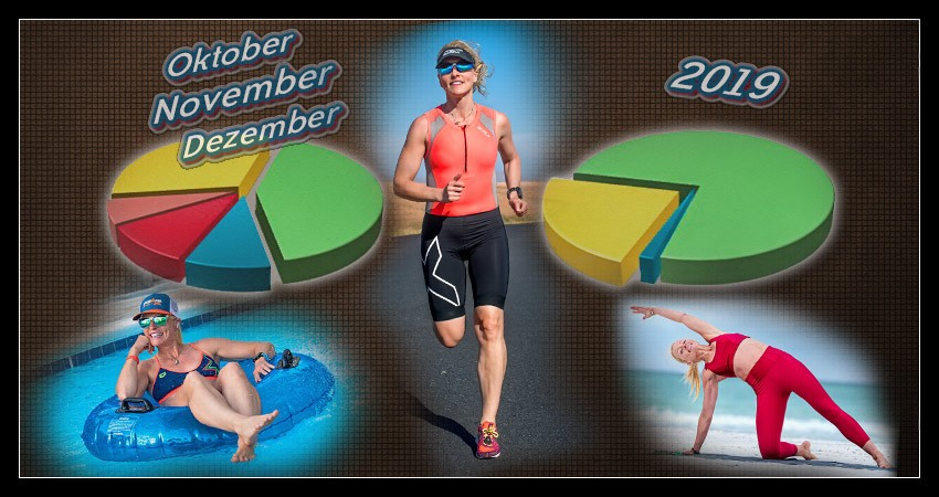 Triathlon Training Auswertung Banner Collage