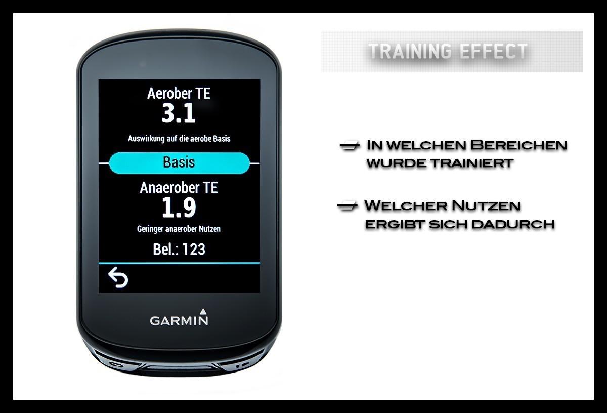 Garmin Edge 830 Trainingsanalyse