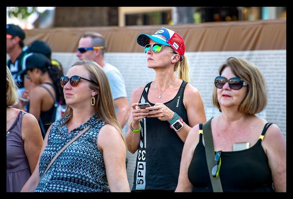 Triathlonfans als Zuschauer