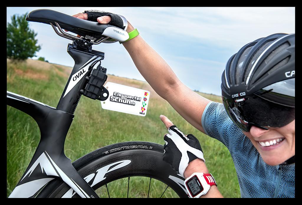 Startnummernhalterung Rennrad von Drais Tag