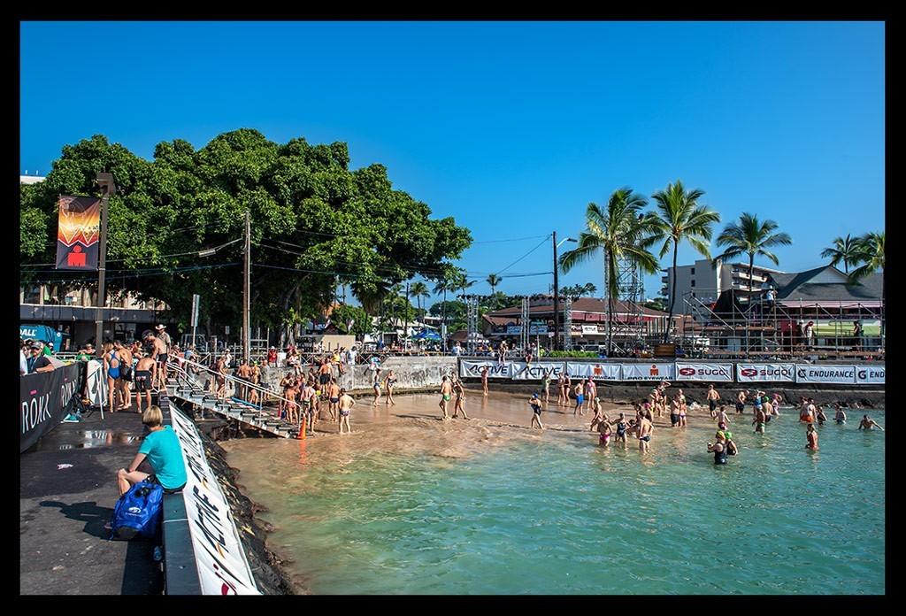 Hawaii - Big Island: Schwimmtraining mit Kaffeepause