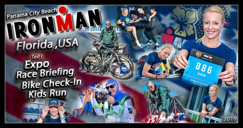 Ironman Florida Panama City Beach Blog Post Banner Collage