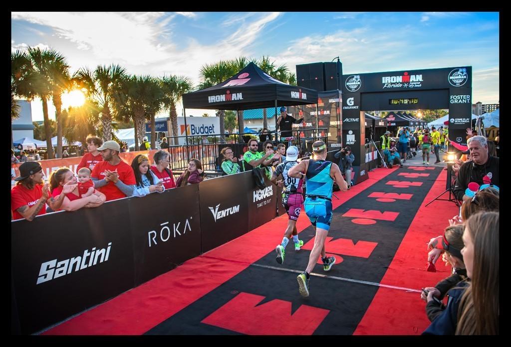 Ironman Florida 2019 Zieleinlauf Finish line