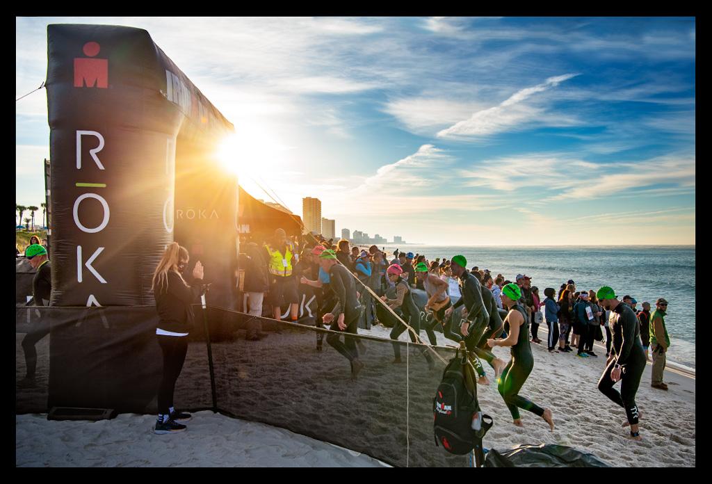 Ironman Florida 2019 Teil II: Der Wettkampfmorgen & das Schwimmen