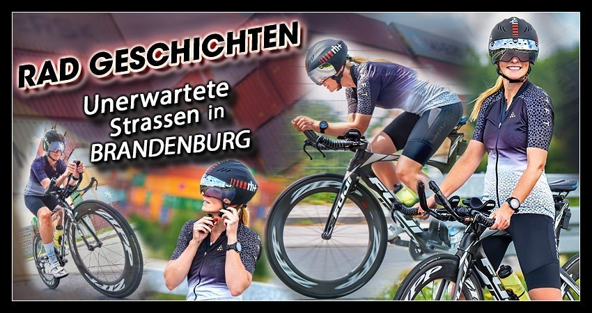 Triathlon Radtraining Fitness Blogger Radgeschichte Banner Collage